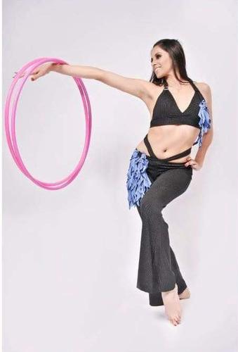 oferta 2 aros grandes fucsia hula gym danza arabe bellydance