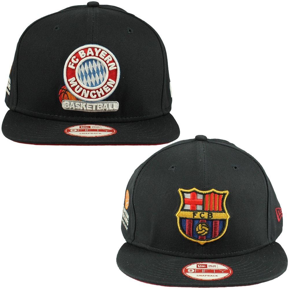 Oferta 2 Bonés New Era Fc Bayern Munique + Fc Barcelona Nfe! - R ... 7cb0fa17cf1