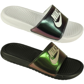 low priced b945c f3d9c Pack 2 Chinelos Nike Benassi Jdi Print Original Nfe Oferta