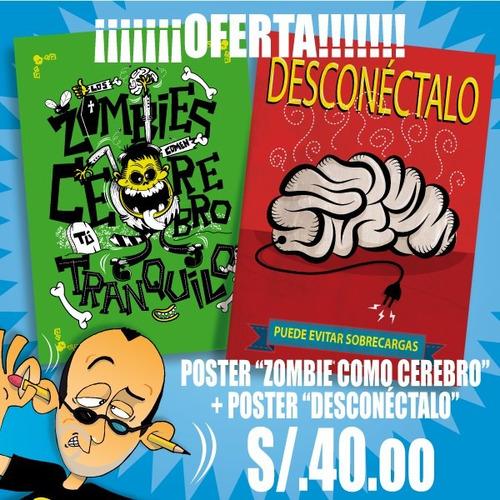 ¡oferta! 2 posters por 40 soles
