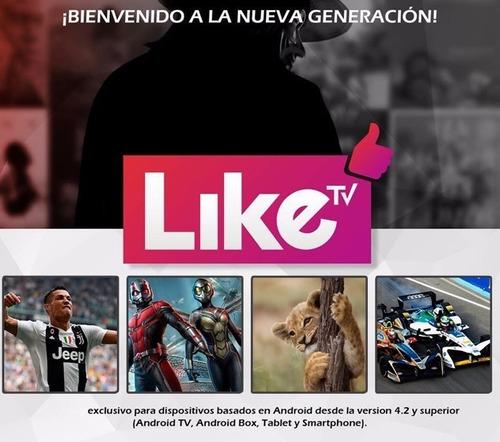 oferta 2 x 1 liketv megaplay membresia 100% original
