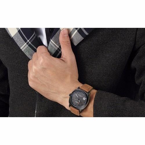 oferta 2 x 50 soles reloj curren correa de cuero artificial