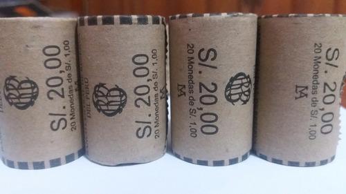 oferta 20 monedas machu picchu colección numismática