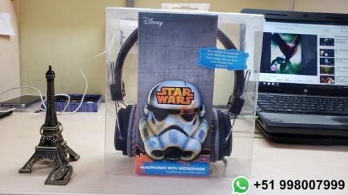 oferta 2019 100% original audífono star wars con micro sakar