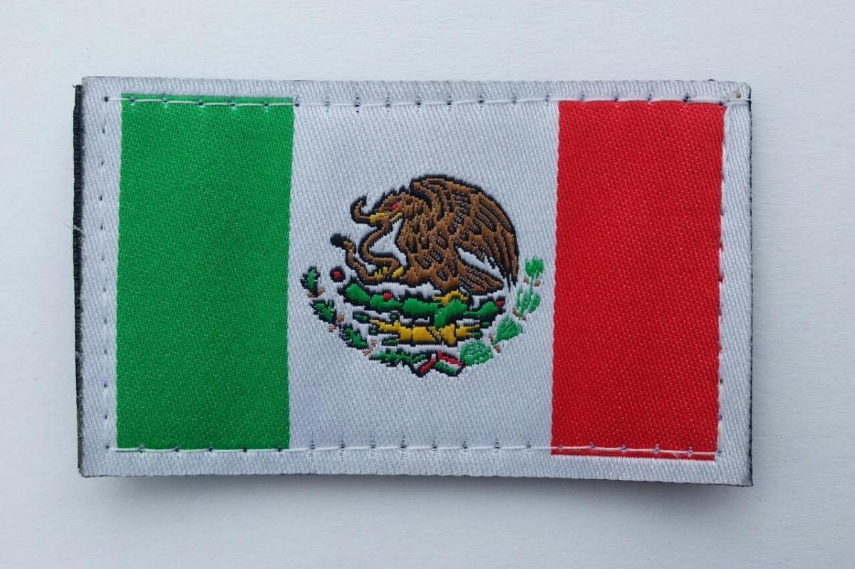 9dd330d62b33 Oferta 3 Parches Bandera México Con Velcro Para Gorras Etc