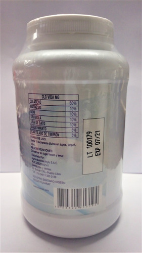 oferta 400gr colágeno hidrolizado+magnesio+cartílago tiburón