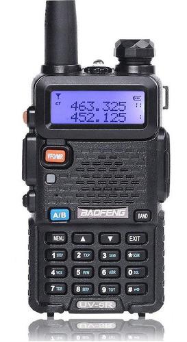 oferta! 5 radios baofeng uv-5r walkie talkie uhf vhf 2 vias