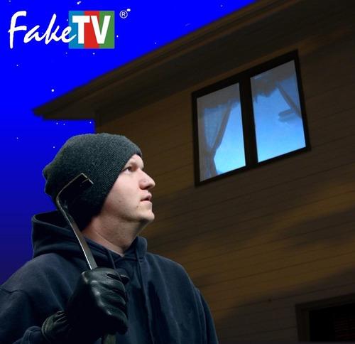 oferta 5 unidades faketv - ahuyenta ladrones y robos!