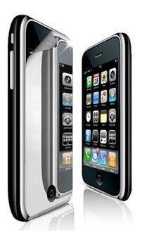 oferta 5x film espejo para iphone 3g 3gs