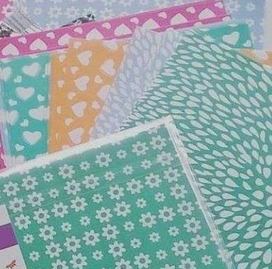 oferta!  60 hojas tramas de  colores papel origami 15x15