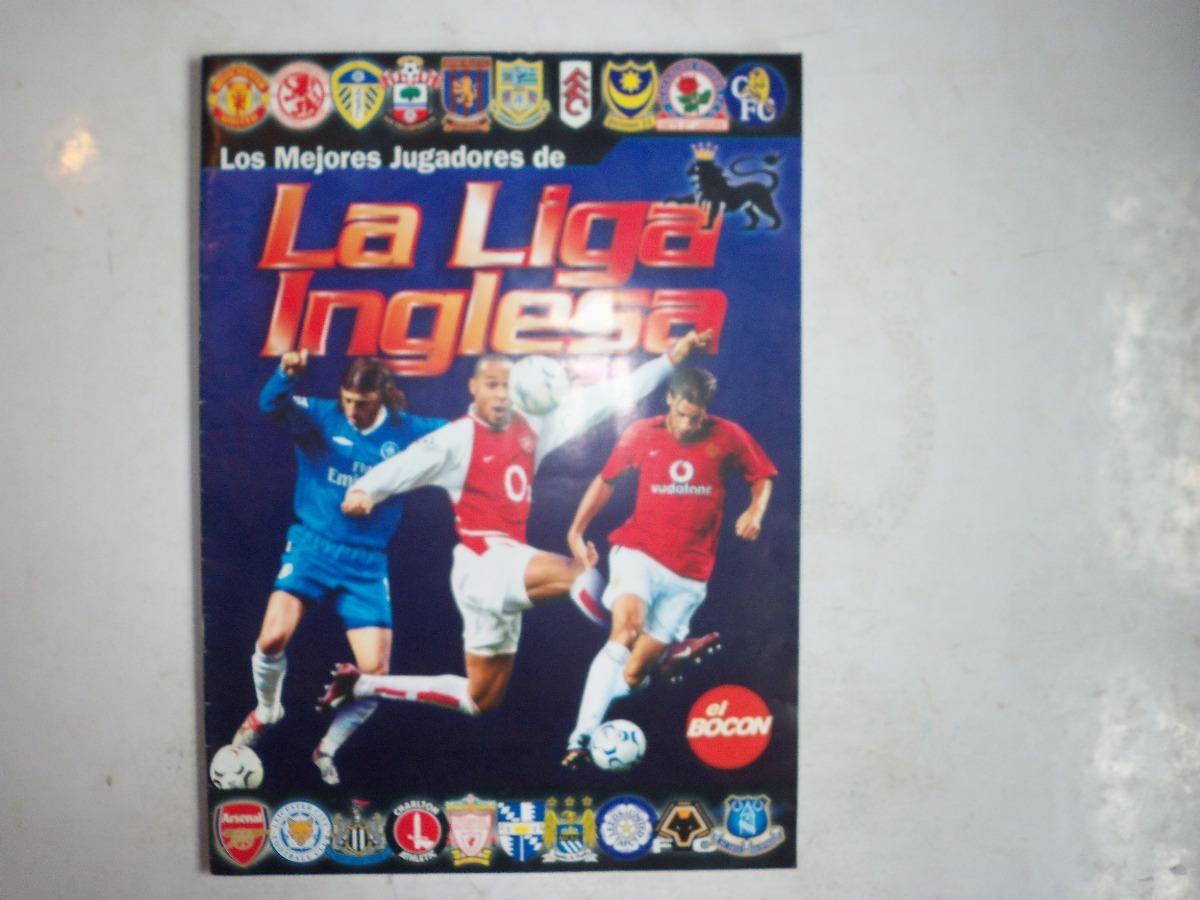 Oferta álbum De Liga Inglesa Diario El Bocon 2008 S 2000 En