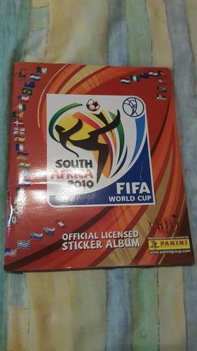 oferta album mundial sudafrica 2010 lleno