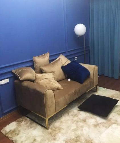 oferta! alfombra peluda 195×230cm super suave varios colores