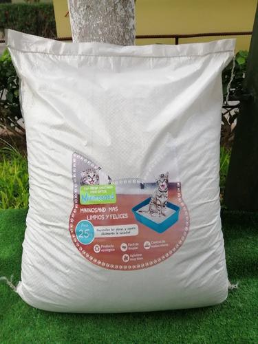 oferta!! arena sanitaria para gato por saco 25kg