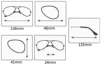 33a539ef2c2e7 Oferta Armação Óculos De Grau Fem Aviador Médio A004 - R  45