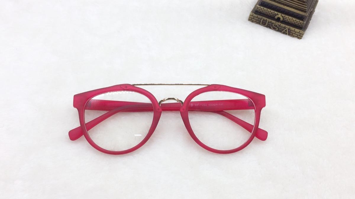 1dae6a7b58235 oferta armação óculos de grau fem aviador médio a004. Carregando zoom.