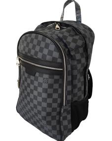 72208c75d Mochila Louis Vuitton Lv Backpack Beige Café Damier Orig - Mochilas ...