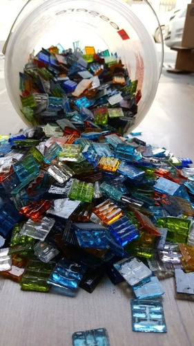 oferta baldes de venecitas traslucidas mix vitro de 4,5 kg