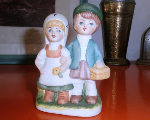 oferta! base70 antigua figura pareja porcelana biscuit l191