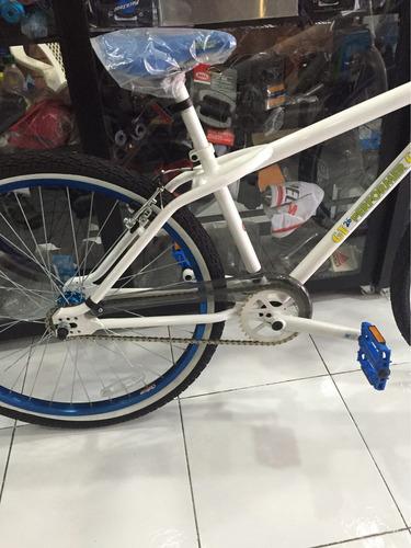 oferta! bicicleta aro 26 marca gt performer single speed bmx
