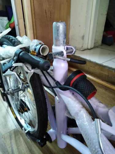 oferta bicicleta plegable nueva,con detalles