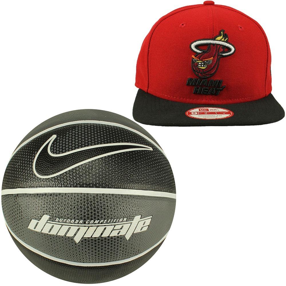 oferta bola basquete nike tamanho 7+boné new era miami heat. Carregando  zoom. 3a6d388b370ed