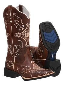 d14833a46b0324 Bota Texana Feminina Garruti - Sapatos com o Melhores Preços no Mercado  Livre Brasil