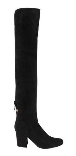 oferta botas extra largas en color negro ajustables