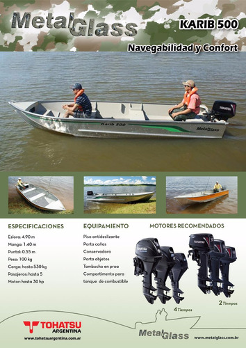 oferta botes de aluminio metalglass 0hs envíos!!!