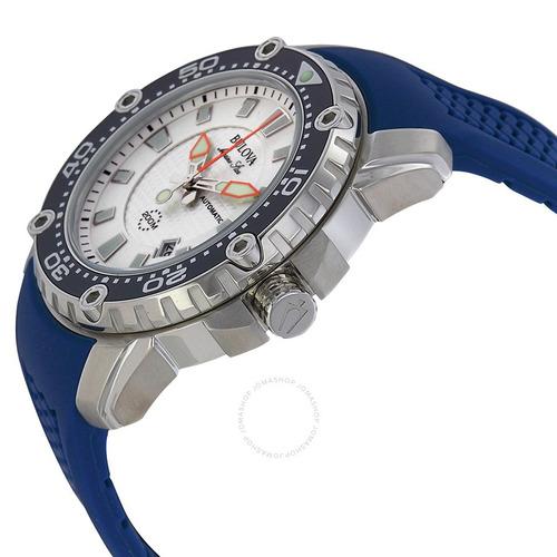 oferta - bulova men's 98b208 stainless steel automatic watch