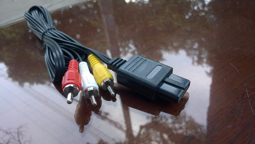 oferta!!! cable av video snes, n64 gamecube / super nes rca
