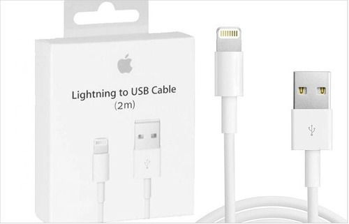 oferta: cable lightning original apple 2m iphone 6s 7 8 x