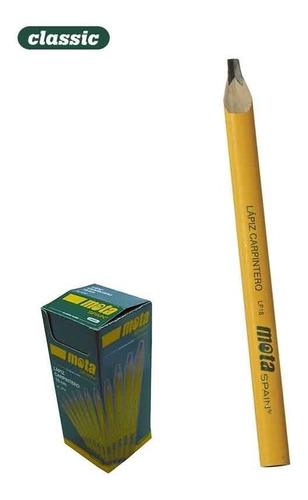 oferta!!!!! caja lapiz carpintero mota lp18 x 50 unidades