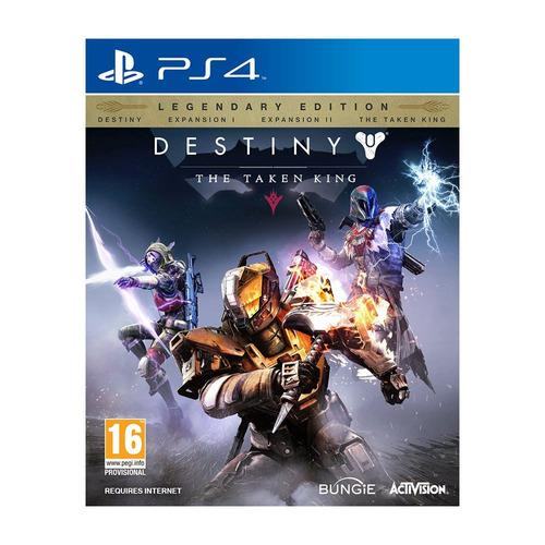 oferta! caja sellada- destiny:taken king legendary ed.- ps4