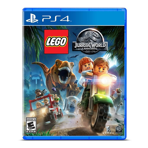 oferta! caja sellada- lego jurassic world ps4