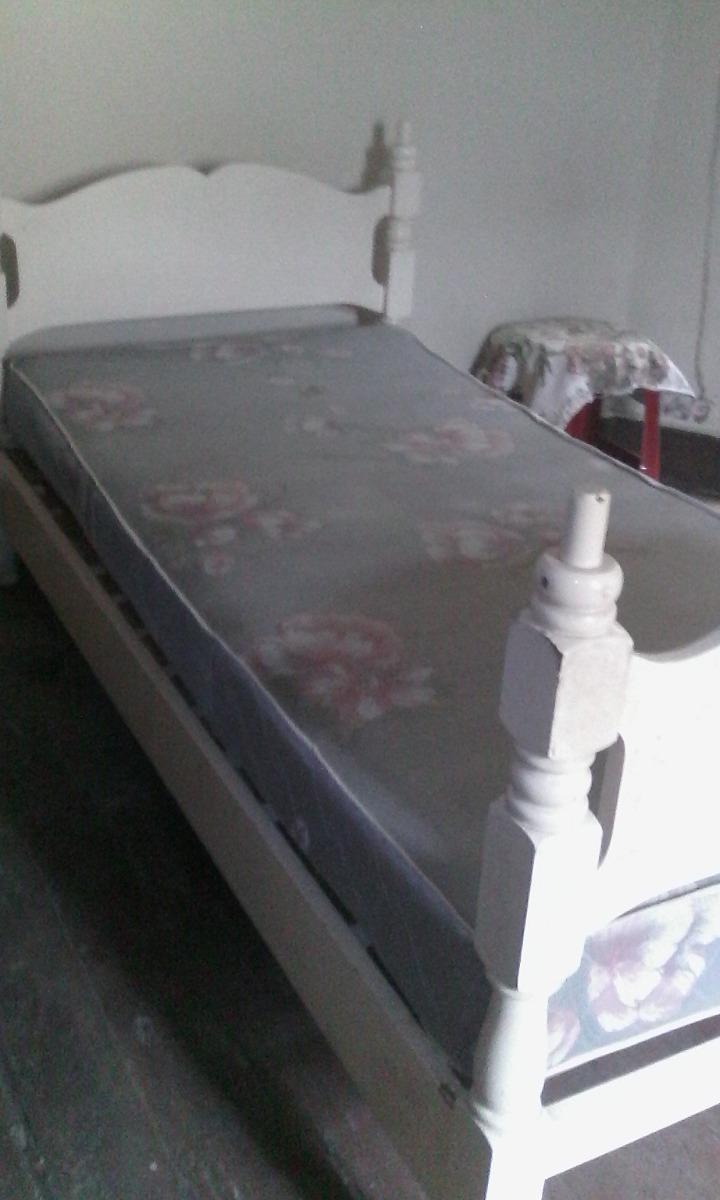 oferta! Camas Gemelas En Madera Cedro Color Blanco - S/ 289,00 en ...