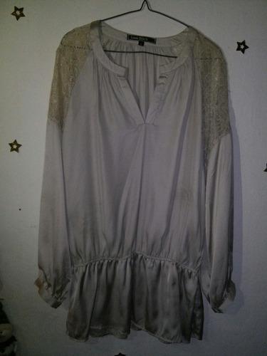 oferta camisa beige de vestimenta nueva