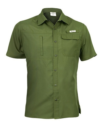 oferta camisa hombre outdoor talla s a 3xl  / outdoor uv50