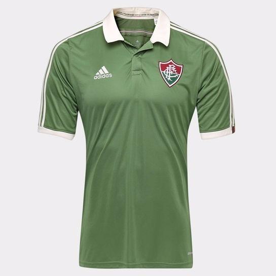 Oferta! Camisa Oficial adidas Fluminense - Uniforme 3 - 2015 - R  74 ... c6d756a4cf1ad