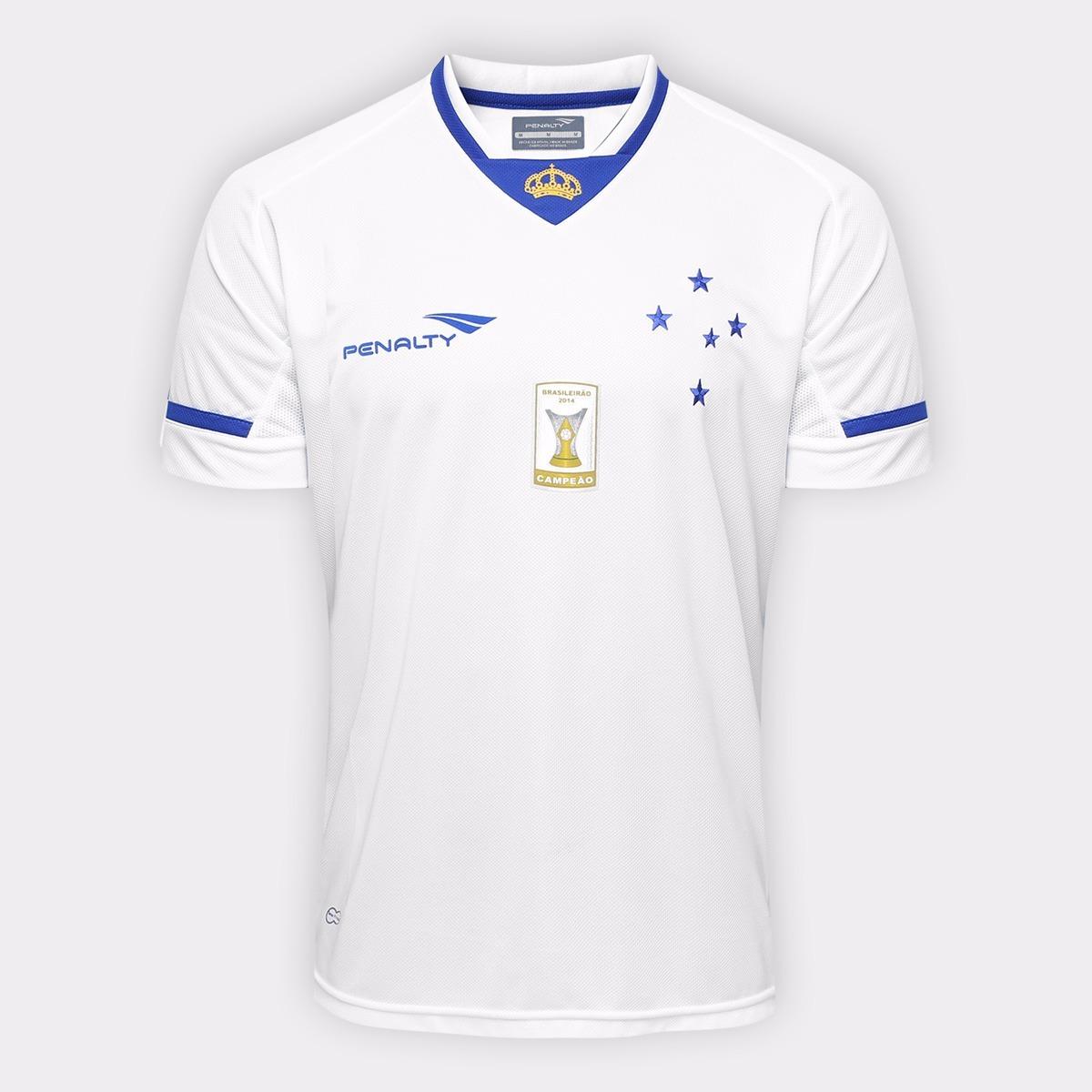 oferta! camisa oficial penalty cruzeiro - 2015 - com escudo. Carregando zoom . 25f907547a98b