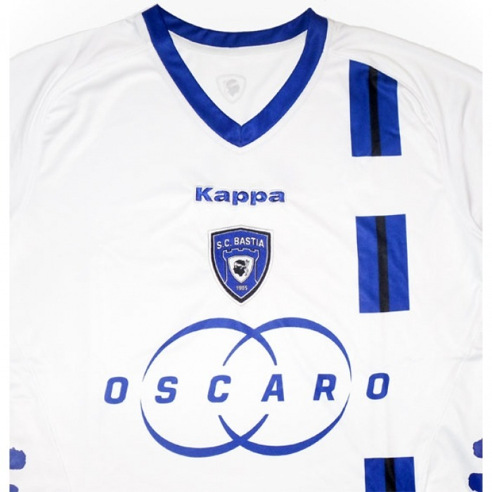 Oferta Camiseta Bastia Francia 2012 13 Sup Kappa. Bairestore ... 653ad5b35ff00