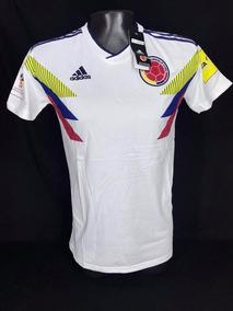 3e43c001e Camiseta Seleccion Colombia 2018 Blanca - Camiseta de Colombia para Hombre  en Mercado Libre Colombia