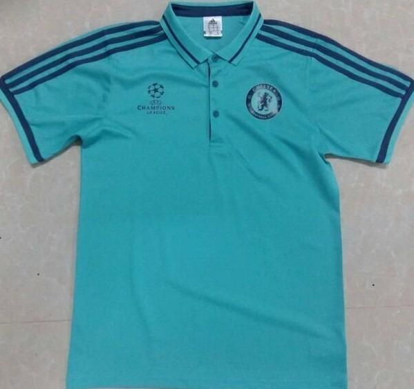 41658bcc7d Oferta Camiseta Tipo Polo Chelsea Champions Envío Gratis -   599.00 ...