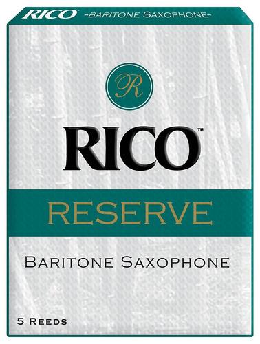 ¡oferta! caña rico reserve para saxo baritono