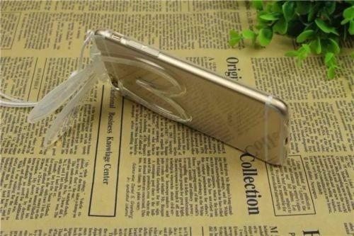 oferta carcasa conejo iphone 5 5s se transparente stand