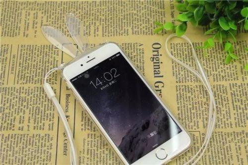 oferta carcasa conejo iphone 6 6s transparente stand