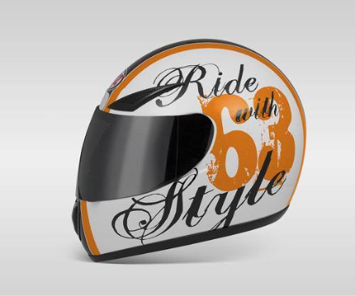 oferta casco vaz mod v100 habilitado logo ride with style