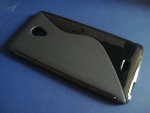 oferta case protector negro zte v580