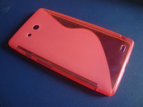 oferta case protector rosa huawei mate 6.1