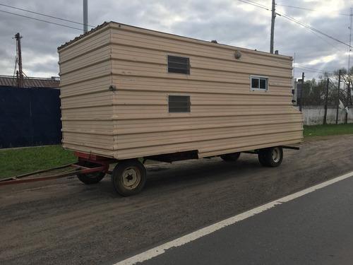 oferta casilla rural de 6,50mtrsx 2,50 mtrs con toldo